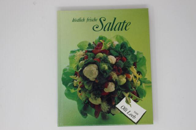 köstlich frische Salate - Kochbuch - Olli Leeb - NEU