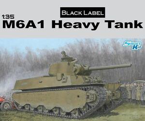 DRAGON 6789 Maquette M6A1 Tank lourd