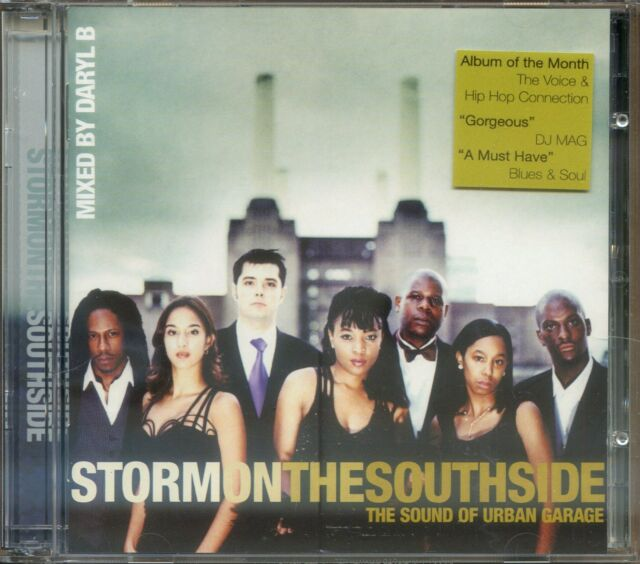 2 CD Set - Various  ‎– Storm On The Southside - The Sound Of Urban Garage