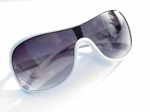 Alpland Designer Sonnenbrille Pilotenbrille - Weiss uebyzk