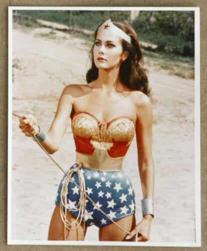 Wonder Woman Lynda Carter Vintage Original Color Photo 8 x 10