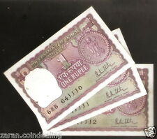 1 Rupee R.N. Malhotra  big rupee (B inset) ( 1980) @ Unc Condition ( A-42 )