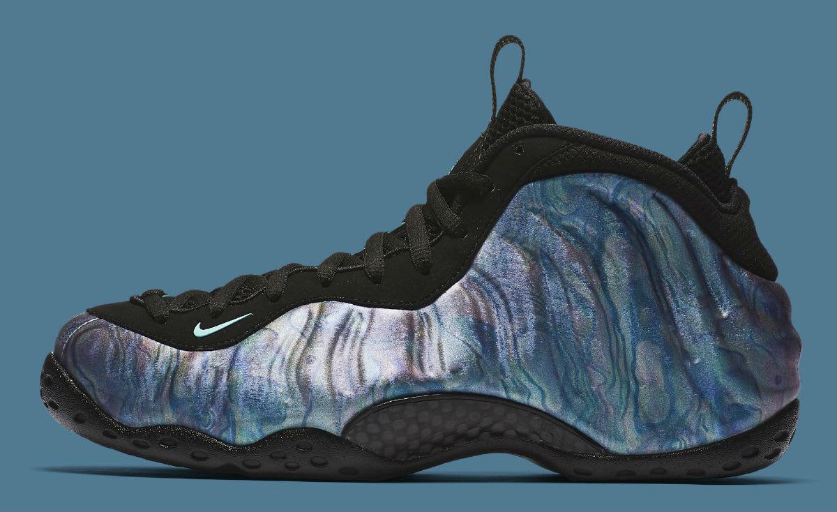 Nike tamaño Air Foamposite One Abalone tamaño Nike 13.575420-009.Aurora verde negro.El mas popular de zapatos para hombres y mujeres 42b597