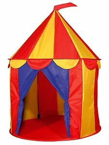 Image is loading Indoor-Kids-Play-Tent-House-Circus-Tent-Toddler-  sc 1 st  eBay & Indoor Kids Play Tent House Circus Tent Toddler Children Fun ...