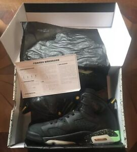 997d88a8787b Nike Air Jordan VI 6 Retro BRAZIL PACK WORLD CUP BLACK 688446 020 ...