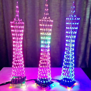 LED colorato elettronico Guangzhou Torre DISPLAY KIT CON TELECOMANDO Set fai da te