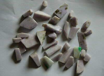 Niedrigerer Preis Mit *** Sehr Schönes Lot Roher Jadeite, 33 Stücke, Jadeite - Jade, Fei Cui ***