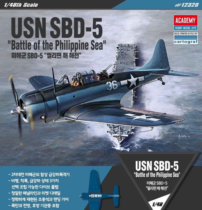 Academy 1 48 USN SBD-5  Battle of the Philippine Sea