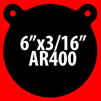 """AR400 Gong Target1//4/"""" x 8/""""While Supplies Last1-Pack"""