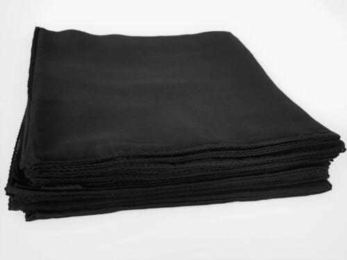 Tuch Baumwolle schwarz Bikertuch Kopftuch Halstuch unisex 100 x 100 cm Motorrad
