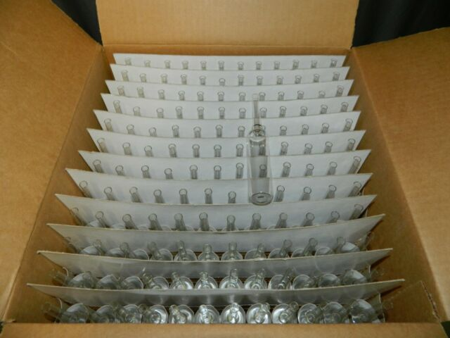 Wheaton 651502 Borosilicate Glass 1mL Vacule Lyophilization Prescored Ampule Case of 144
