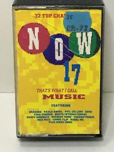Now-That-039-s-What-I-Call-Music-17-Double-Cassette-Tapes-Original-Now-17