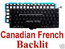 Apple MacBook Pro A1278 Keyboard - CF - Canadian French - Backlit