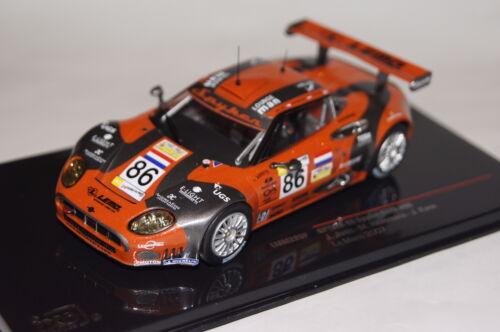 Spyker C8 Spyder GT2-R #86 Le Mans 2007 1:43 Ixo neu /& OVP LMM226P.13