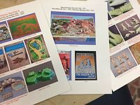 Marx 1970s Dinosaur Prehistoric Playsets Guide W/ Pictures