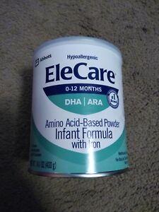 EleCare DHA/ARA Infant Formula Hypoallergenic Powder - 14 ...