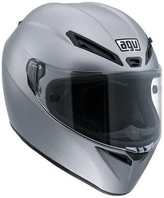 DOT AGV GT Veloce Carbon Glass Full Face Motorcycle Helmet Matt Grey Like Corsa