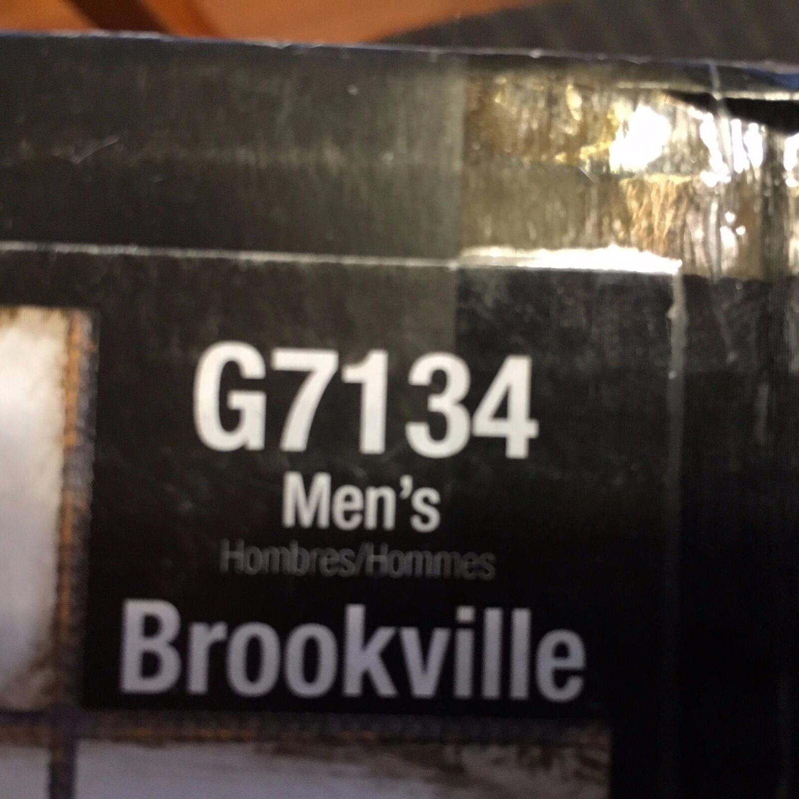 Georgia Para Hombre (721) brookville (721) Hombre Bota De Trabajo g7134 Marrón De Cuero m 0e11b0