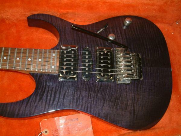 Ibanez RG370SE Heavy tiger heather  Flame top rare useful EMS F/S