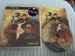 Resident-Evil-5-Gold-Edition-ps3-Playstation-3-Kostenlose-UK-Versand