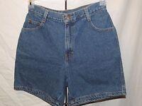 Vtg Gitano Medium Wash High Waisted Rise Can Be Rolled Jean Denim Shorts Size 8