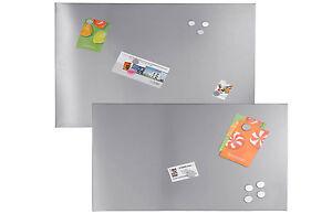 magnettafel 40 x 60 cm inkl 3 magnete montagematerial tafel edelstahl magnet. Black Bedroom Furniture Sets. Home Design Ideas