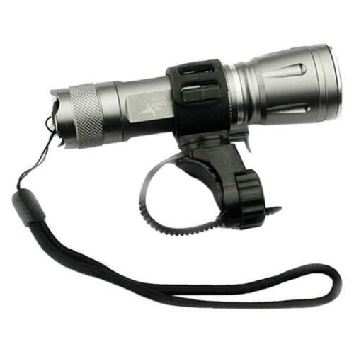 360° Rotary Bicycle Bike Mount Holder For LED Flashlight Torch Clamp Clip CO
