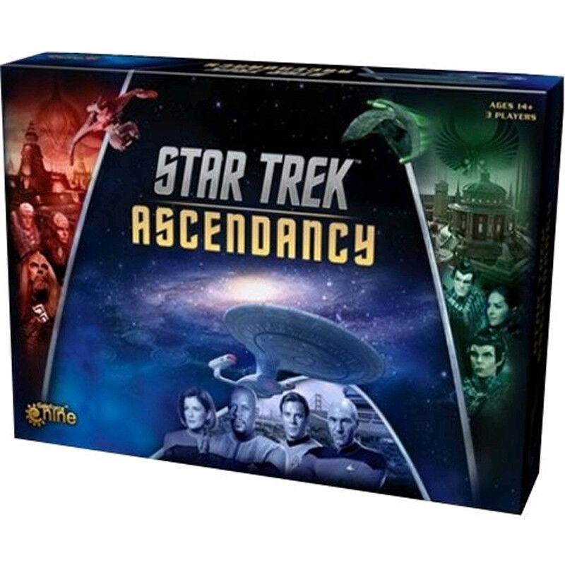 STAR TREK - Ascendancy Board Game (Gale Force Nine)  NEW