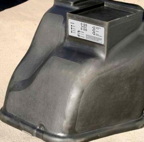 Aufkleber Schaltschema Unimog  403-406-416 Kleines Getriebe alt Lang