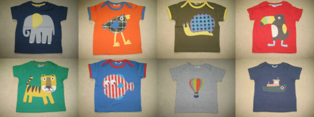 BABY BODEN t-shirt haut 0-4 ans Applique & impression 12 Designs