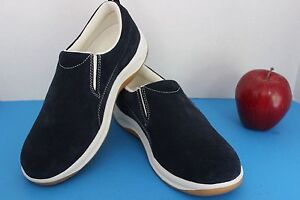 78ea62a478f6 Lands End Women s Slip-On Shoes~LOAFERS~Casual~Walking~Size 6 B~Navy ...