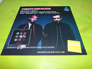 Twenty-One-Pilots-Blurryface-Plv-30x30-cm-French-Record-Store-Promocion-Advert
