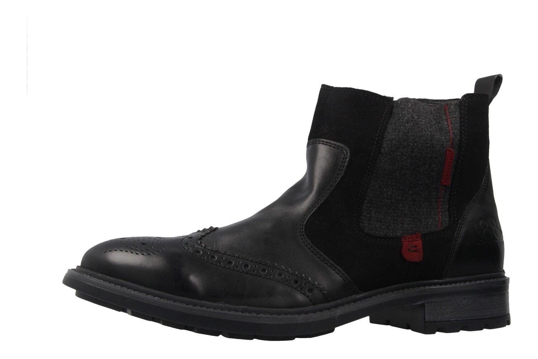 JOSEF SEIBEL - Herren Chelsea Boots - Oscar 21 - Schwarz Schuhe in Übergrößen