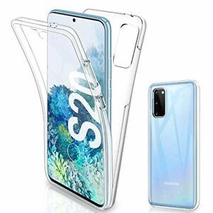 Gnews Coque pour Samsung S20 Housse, Samsung S20 Coque Transparent Silicone TPU