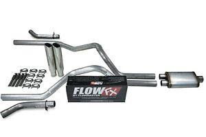 "04-14 Ford F-150 2.5/"" Dual Exhaust Flowmaster Super 10 Corner Exit Black Tip"