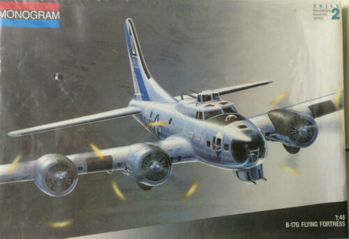 1991 MONOGRAM B17G FLYING FORTRESS 148 SCALEFACTORY SEALEDFREE SHIPPING
