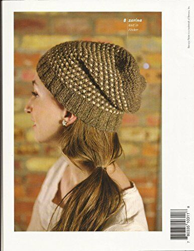Berroco Flicker #311 Knitting Pattern Book 8 Designs for Women