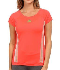 65a7b3a93cd New Adidas Adizero Running Top T-Shirt - Pink - Ladies Womens Gym ...