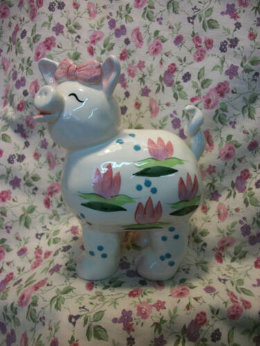 WHIMSICLAY ANNACO CREATIONS PIG LILLY 21213