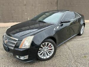 2011 Cadillac CTS Coupe 6 SPEED MANUAL - LEATHER - SUNROOF