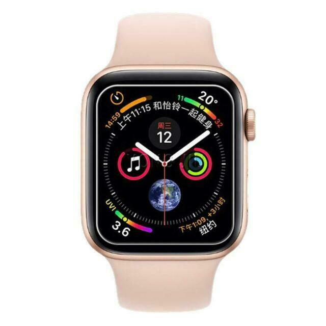 For Apple Watch Series 4 44mm Tempered Glass Screen Protector For Sale Online Ebay