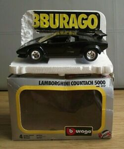 Bburago 0137 Lamborghini Contach 5000 - Original Model in original Box (ODD113)