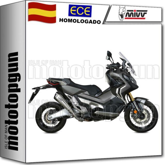 MIVV TUBO DE ESCAPE HOM DELTA RACE COPA CARBONO HONDA X-ADV XADV 750 2020 20