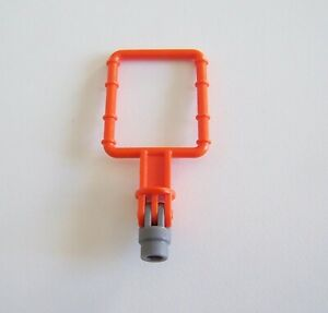 PLAYMOBIL-S455-RACING-Support-Orange-Fixation-Projecteurs-Spot-Remorque-4422