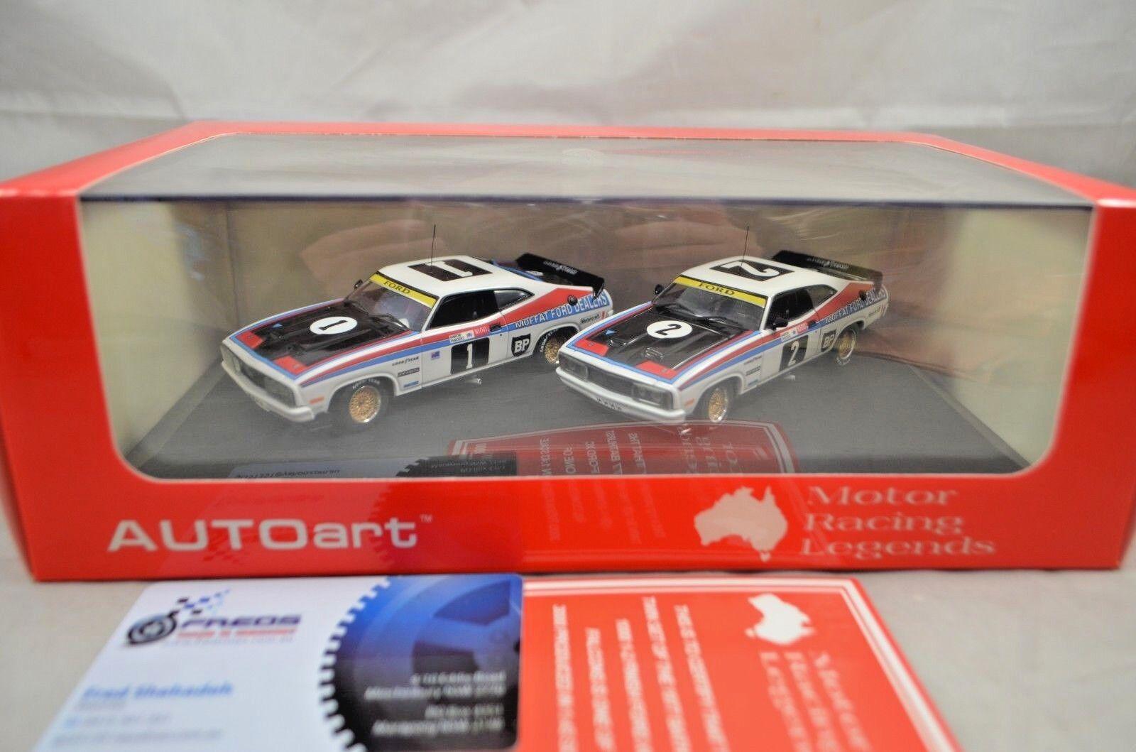 1 43 Ford Falcon XC Moffat Ford Dealer Team Cars  1 &  2 1977 Bathurst Twin Set