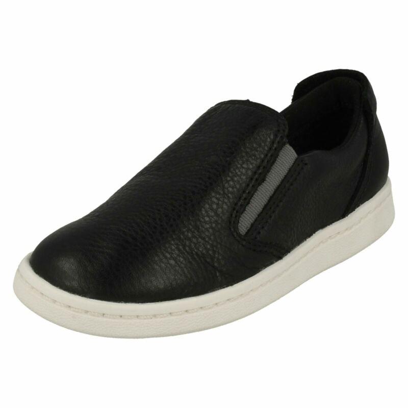 Vorsichtig Boys Clarks Slip On Loafer Style Shoes Street Verve äRger LöSchen Und Durst LöSchen