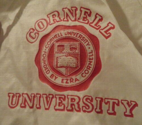 Vintage CORNELL UNIVERSITY Nylon Windbreaker Jacke