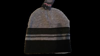 2019 Moda Grigio E Nero Taglia Unica Cappello Termico Per Bambini 4 Anni Ed Oltre-mostra Il Titolo Originale