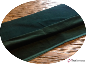 Dark Green Cotton Dressmaking Velvet By the Metre Light Weight