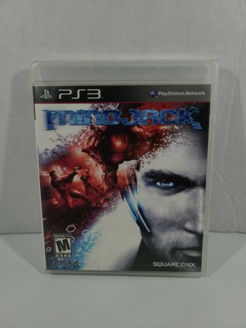 Playstation 3 - MindJack (Sony PS3, 2011 Square Enix) Complete -  A2